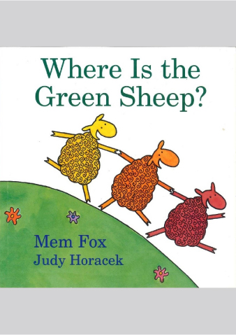 Where is the green sheep? (CD付)