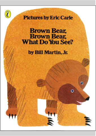 Brown Bear, Brown Bear, What Do You See?   オリジナルCD付大判英語絵本
