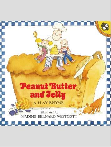 Peanut Butter and Jelly オリジナルCD付英語絵本