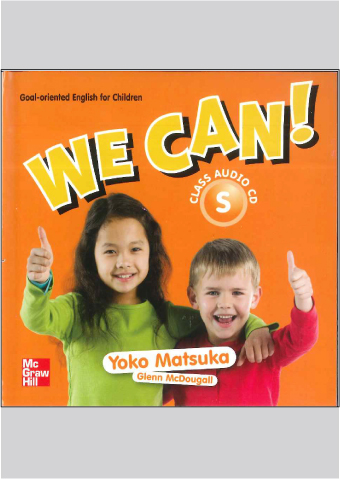 We Can! Class CD スターター