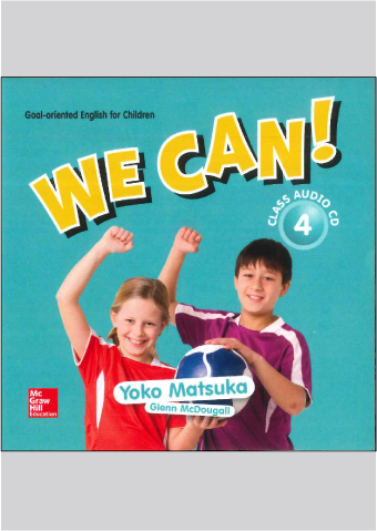 We Can! Class CD 4