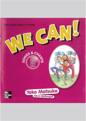We Can! Songs & Chants CD