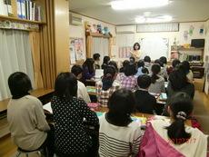 中学1年生・2年生・3年生クラス 桜馬場教室にて